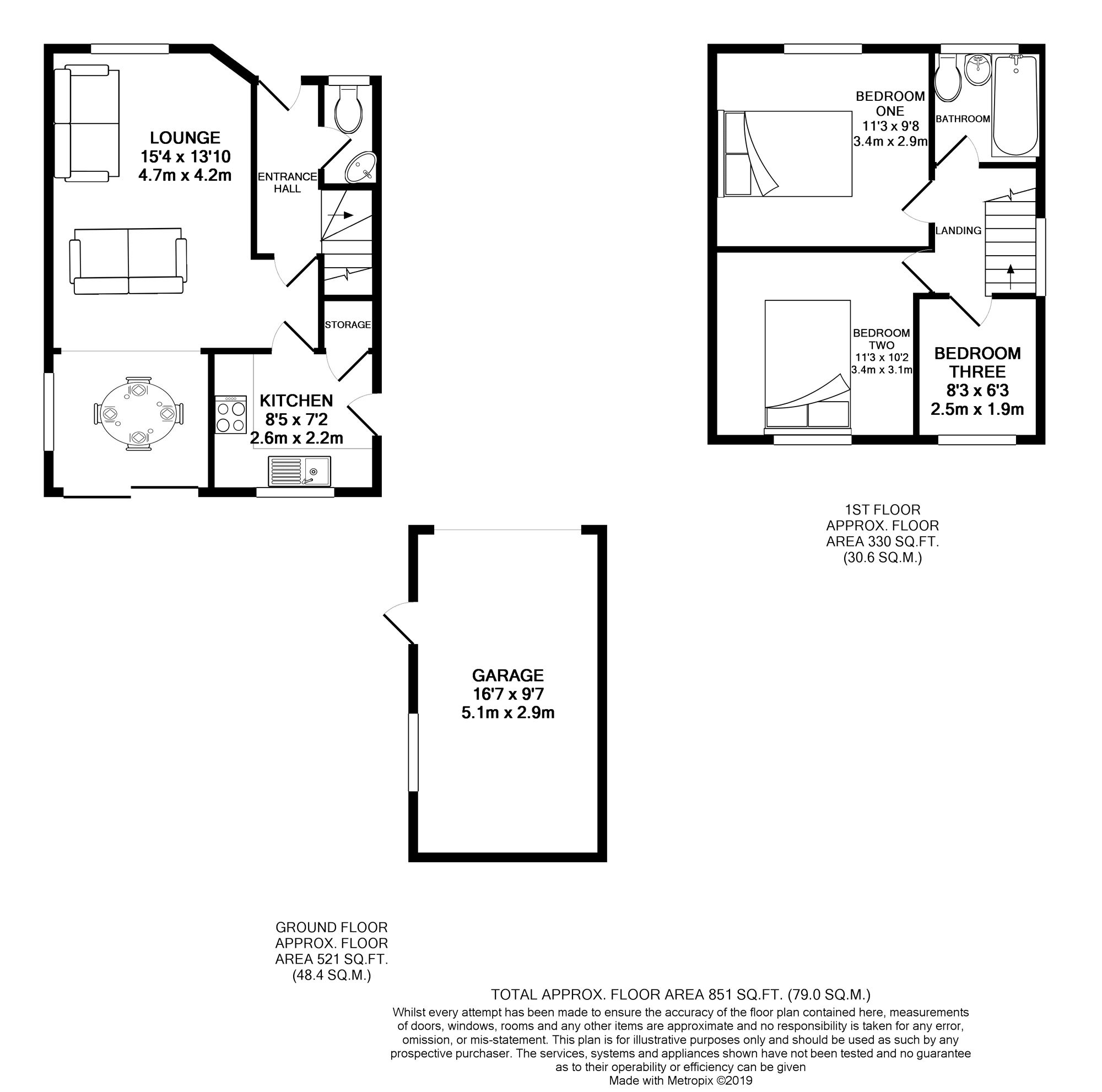 Floorplans For Theale, Reading, Berkshire