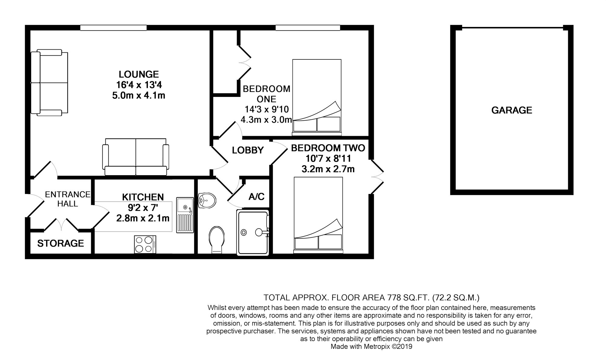 Floorplans For Lower Armour Road, Tilehurst, Reading, Berkshire