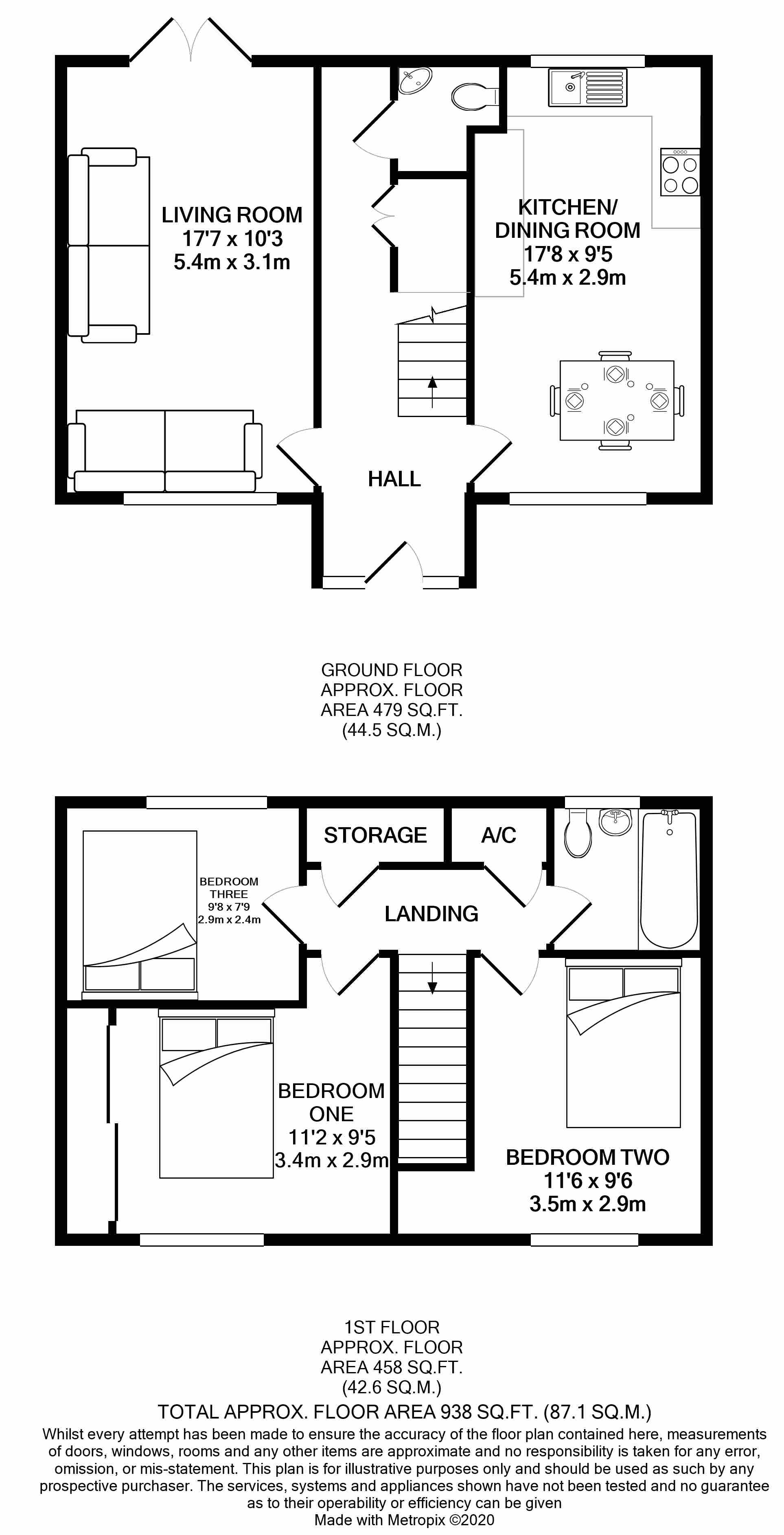 Floorplans For Tilehurst, Reading, Berkshire