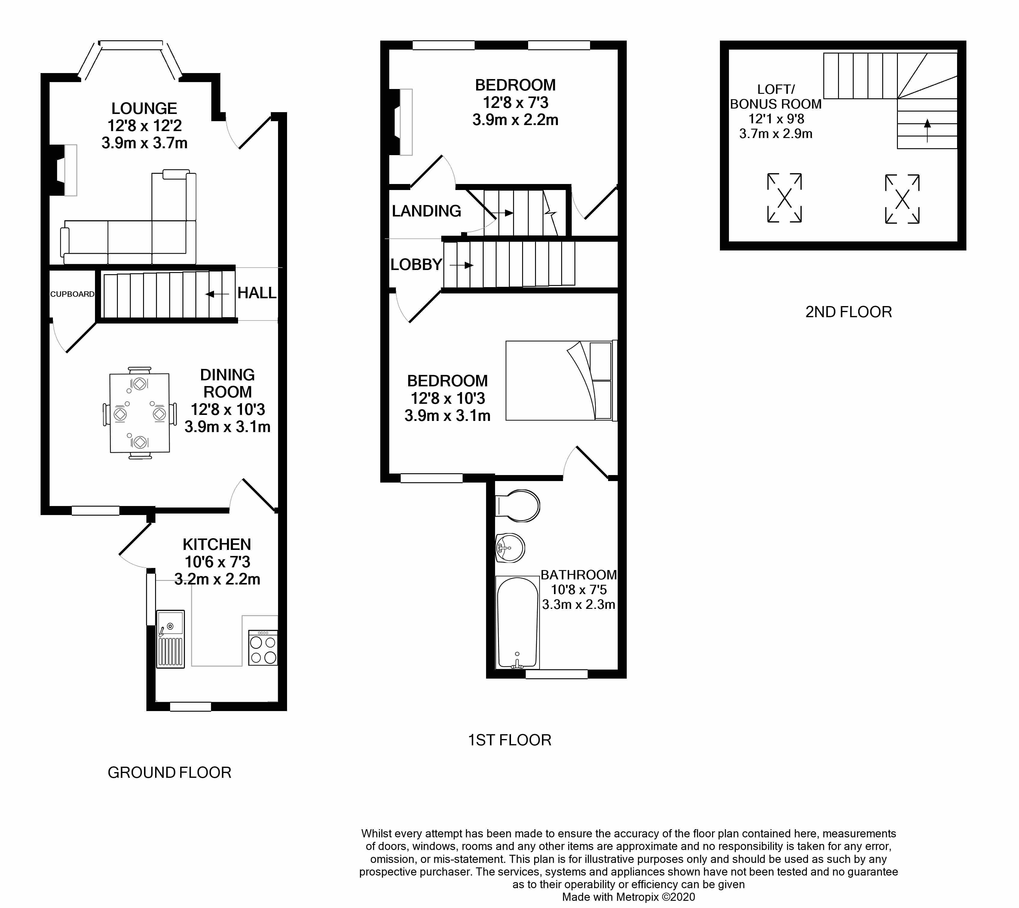 Floorplans For Beecham Road, Reading, Berkshire